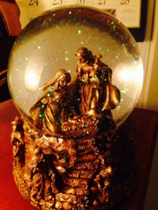 Silent night…with glitter